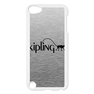 Trendy Kipling Brand Logo Protective Hard Phone Case,TPU Phone case for ipod 5,white