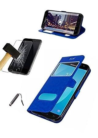 Funda Carcasa Huawei P20 Lite Azul + Protector Cristal Templado + lápiz * * * Varios Colores Disponibles * * * Varios Colores Disponibles * * * Varios ...