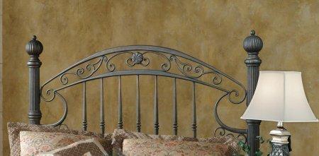 Hillsdale Furniture 1335HK Chesapeake Headboard, King, Rustic Old Brown