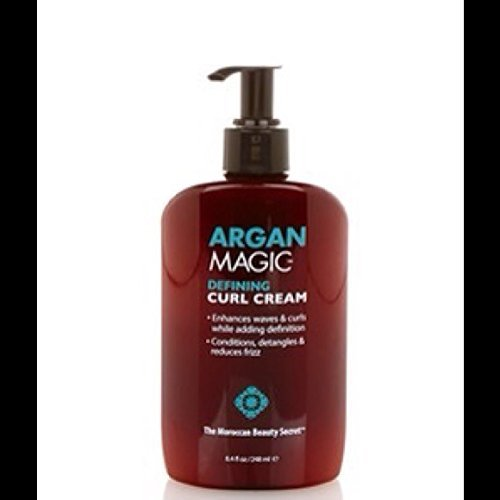 Argan Magic Defining Curl Cream 7.5 ouncs by Argan Magic
