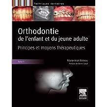 Orthodontie de l'Enfant et du Jeune Adulte (pack 2 Tomes Insép.)