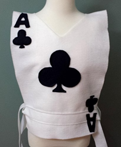 Kids clubs Playing Card Costume Tunic - Choose your Card (Alice in Wonderland) - Baby/Toddler/Kids/Teen/Adult Sizes by Teatots Party Planning