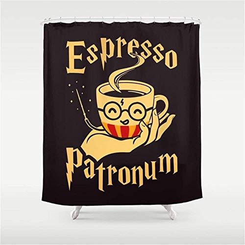 I Like Exercise Espresso Patronum Shower Curtain 60x72 inch