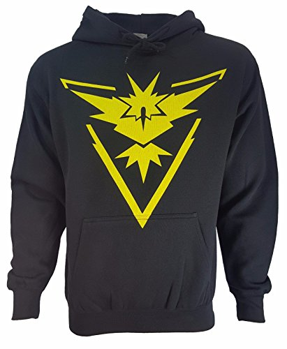 (Pokemon Team Mystic Valor Instinct Symbol Hoodie)