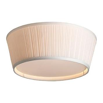 IKEA ARSTID - Lámpara de techo, blanco - 46 cm: Amazon.es: Hogar