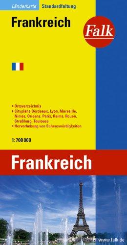 Falk Länderkarte Frankreich 1:750 000