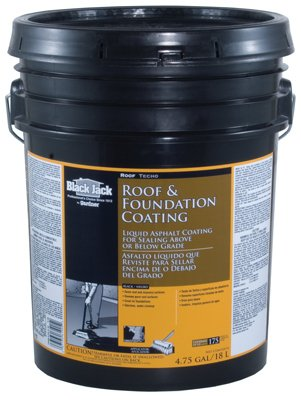 Price comparison product image Black Jack Roof And Foundation Coating Green 4.75 Gl