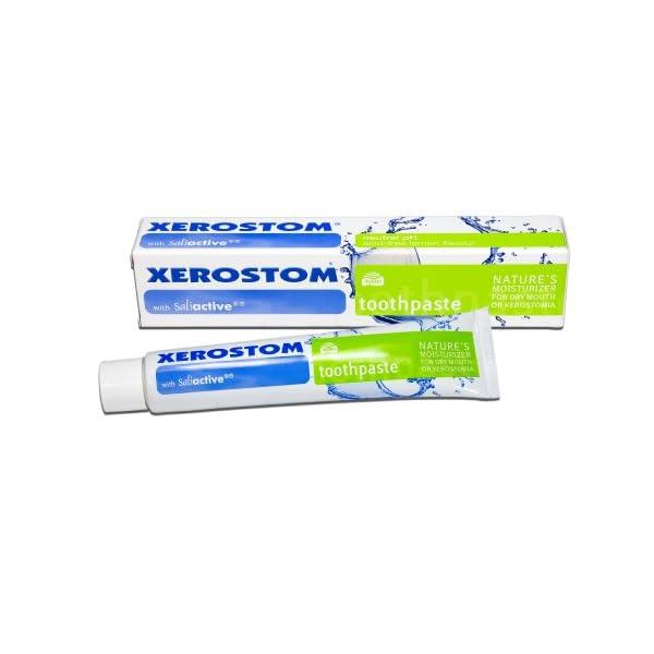 Xerostom Dentifrico, con Saliactive para boca seca y xerostomía 50 ml 2