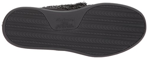 Black Moccasin Dearfoams Suede Men's Whipstitch Detail with 4vYvT6wUq
