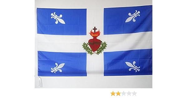 AZ FLAG Bandera Flor DE lis Carillon Corazon Sagrado 150x90cm para ...