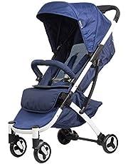 SAFETY 1ST Nook Compact Lightweight Newborn 4 Wheel Stroller, French Navy