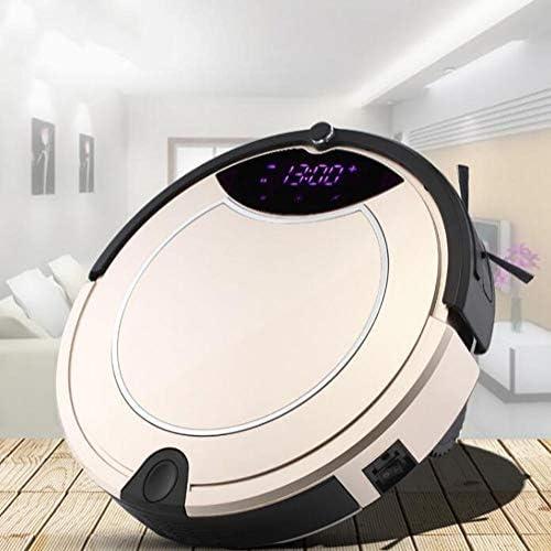 CHUTD Robots de Balayage intelligents, Ultra-Minces, domestiques, entièrement automatiques, Or