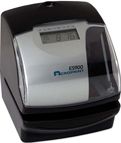 ACROPRINT TIME RECORDER ACPES900(1028) - ACRO ES900 MULTIFUNCTION ATOMIC TIME RECORD/STAMP ()