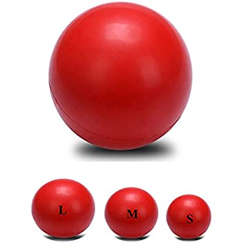 "Pet Supplies : Ø 2.4"" Indestructible Solid Rubber Ball Pet"