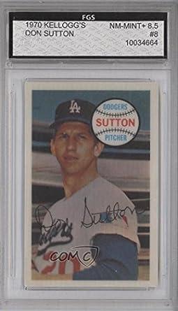 Amazoncom Don Sutton Baseball Card 1970 Kelloggs 3 D Super