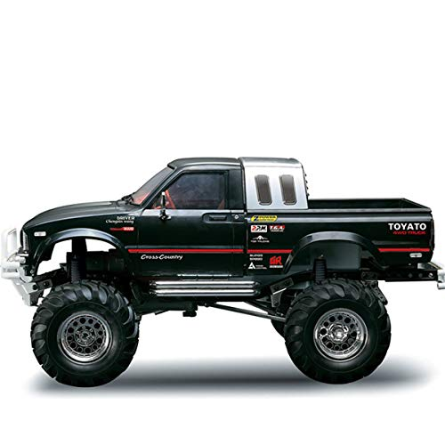ホビー/ラジコン / 車・トラック/HG P407 1/10 2.4G 4WD 3CH Rally RC Car Metal 4X4 Pickup Truck Rock Crawler RTR