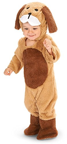Brown Puppy Toddler Dress Up Costume 2-4T