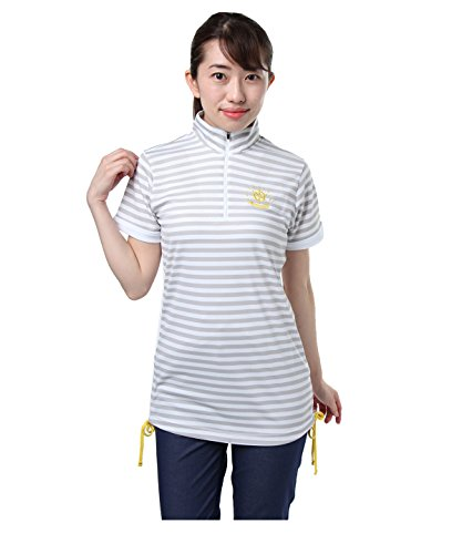 オプスト ゴルフウェア 半袖シャツ BD半袖チュニック OP220301H010 GY L