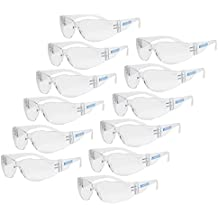 JORESTECH Eyewear Protective Safety Glasses Pack of 12 (Clear)