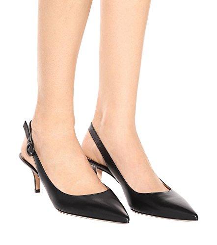 Heels Toe Pumps Pointy Shoes Sandals Strap Ubeauty Black Stiletto Women's Court Kitten Basic On Slingback Ankle Slip wqAxcgp1