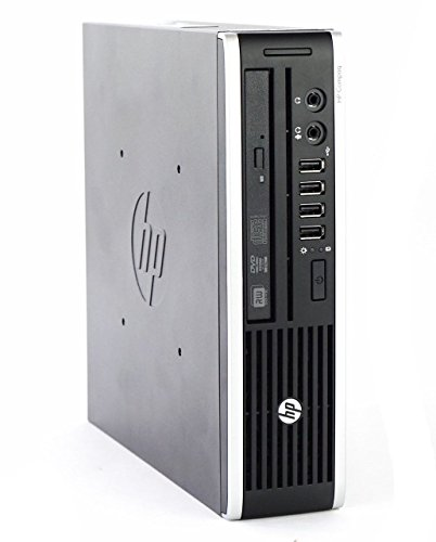 HP Elite 8200 Ultra Slim Desktop PC – Intel Core i5-2400S 2.7GHz 8GB 128GB SSD Windows 10 Professional (Renewed)