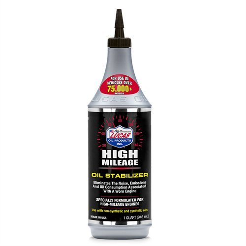 LUCAS OIL 10118 1 quart High Mileage Oil Stabilizer