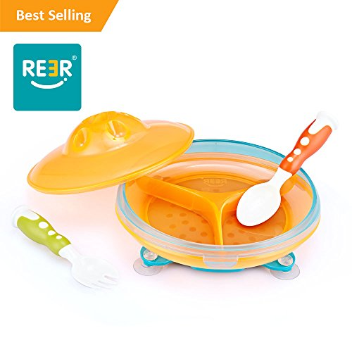 Compare Price Kids Divided Plates With Lids On