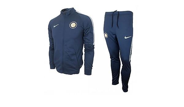 Nike Inter M Nk Dry TRK Suit Sqd K Chándal Milán, Hombre: Amazon ...