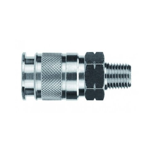 5 mm Tube x 1//8 Swift-Fit Universal Thread 5 mm Tube x 1//8 Swift-Fit Universal Thread Knob Adjustment Flow-In Flow Control Metallic Release Collet AIGNEP USA 57915-5-1//8 Push-In Fittings