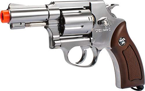 Evike G731 Full Metal CO2 Gas Airsoft Revolver by Win Gun (Color: Chrome)