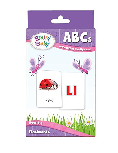 Brainy Baby ABCs Flash Cards Set Introducing the Alphabet Deluxe Edition Brainy Baby Picture