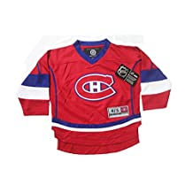 Montreal Canadiens Red Small Kids NHL Hockey Jersey ..2 Sizes: 4/5 , 6/6X.. New