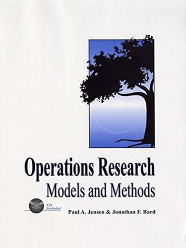 operation research algorithms and applications