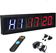 """BTBSIGN 2.3"""" Programmable LED Interval Timer Countdown Clock Stop"""