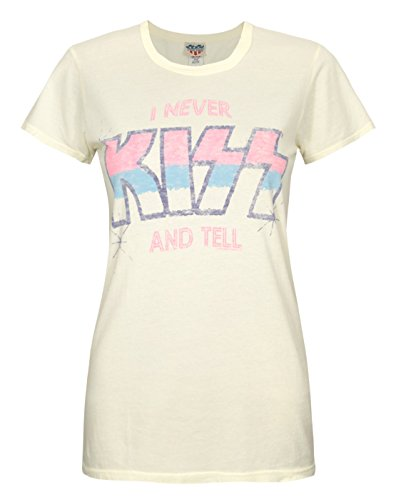 Damen - Junk Food Clothing - Kiss - T-Shirt