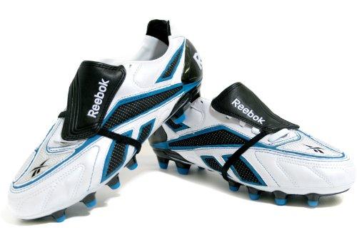 REEBOK Botas de fútbol Valde Pro Hg Blanco / Negro / Azul EU 47 (US 13)