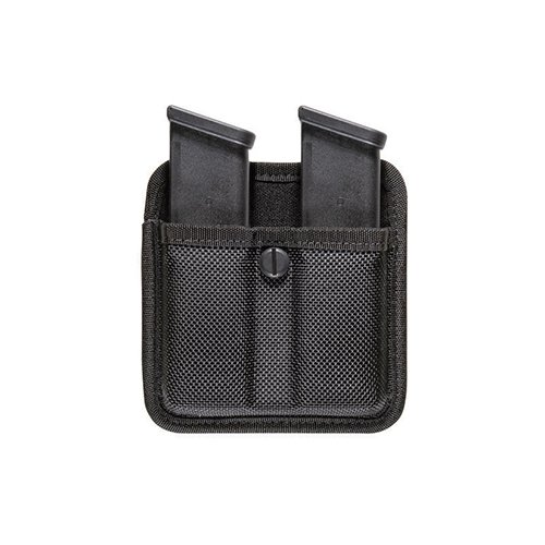 Bianchi Accumold 7320 Triple Threat II Black Double Magazine Pouch (Size: 1)