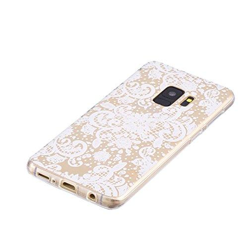 Cover para Samsung Galaxy S9 ( No coincide Samsung Galaxy S9 Plus ) , WenJie Transparente Accesorios Regalo TPU Regalo elegante y duradero suave Silicona Suave Funda Case Tapa Caso Parachoques Carcasa