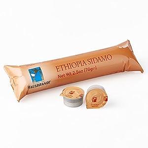 10 Capsule Hausbrandt Caffè Ethiopia Sidamo. Miscela di caffè 100% Arabica tostato e macinato confezionato in capsule monodose