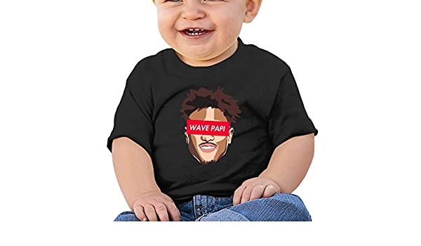6-24 Month Baby T-Shirt SUP-Kelly OUBRE JR Nordic Winter Personality Wild Black