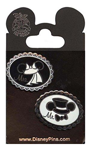 Disney Pins - Wedding Ear Hats - First Release - Pin 74249 by Disney