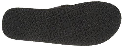 TOM TAILOR 9681602 Herren Zehentrenner Grau - Gris (Coal)