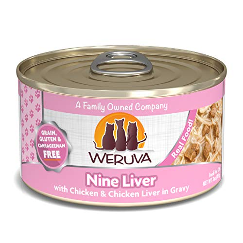 Nine Liver Wet Cat Food Size: 3 oz, case of 24