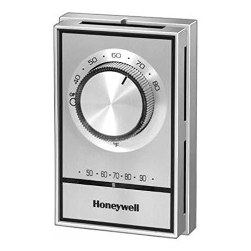 Honeywell T498B1553 Electric Heat Thermostat, SPST, 40 F to 80 F