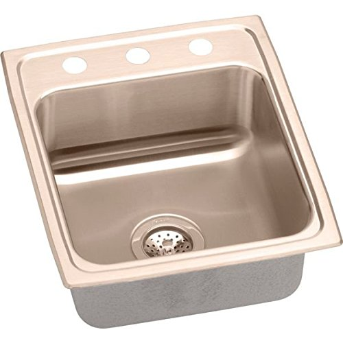 Elkay LRAD1522602-CU Sink Lustrous Highlighted Satin