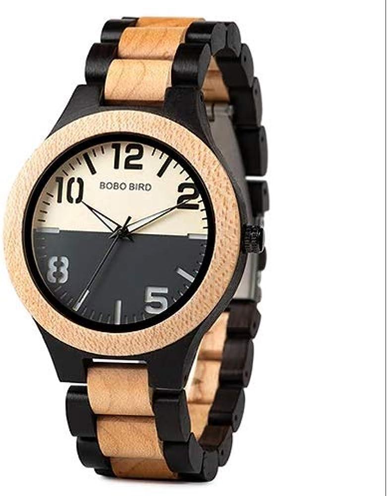 Reloj W-S12 Doble Estilo Bobo Bird ESPAÑA 2019: Amazon.es: Relojes