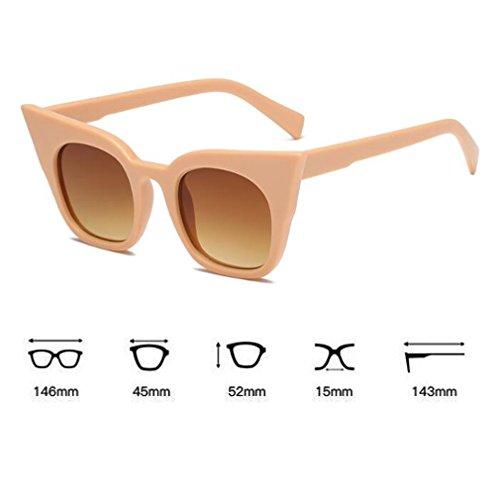 Estilo Vacaciones Sunglasses Y Eye Para Trend De Gafas UV 400 adulto C6 La Nuevo Cat Niños Viajar Adultos Moda Calle Unisex TnxIZwqCTr