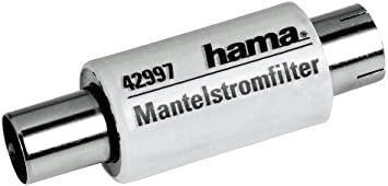 satellite et antenne Argent Hama Protection contre le survoltage