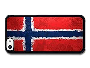 Norwegian Flag Norway Norske Flagg case for iPhone 5C