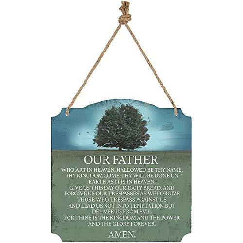 Carson Lord's Prayer Metal Wall - Lords Wall Prayer